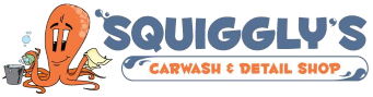 Squiggly's Car Wash & Detail Shop Logo